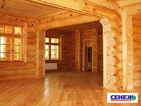 Деревянный дом возводится достаточно быстро и если нужно, то легко...